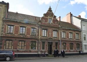 Donatus sammanträder i EOS frimurarhus i Lund.